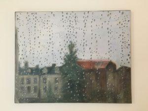 Francine LAIZEAU Jour de pluie